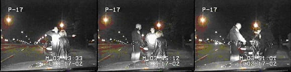 Field Sobriety Test and Arrest